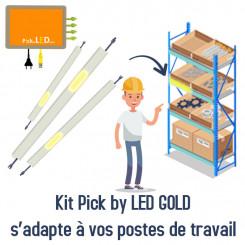 Kit Pick by LED pour poste de travail