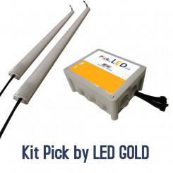 Matériel Pick by LED gold pour poste de travail
