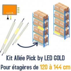 Kit Allée Pick by LED pour vos étagères