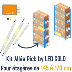 Etagères pick-to-light