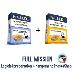 Full Mission logiciel préparation de commandes et rangement pour PrestaShop