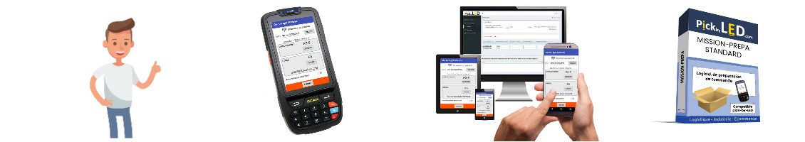 Software for picking order